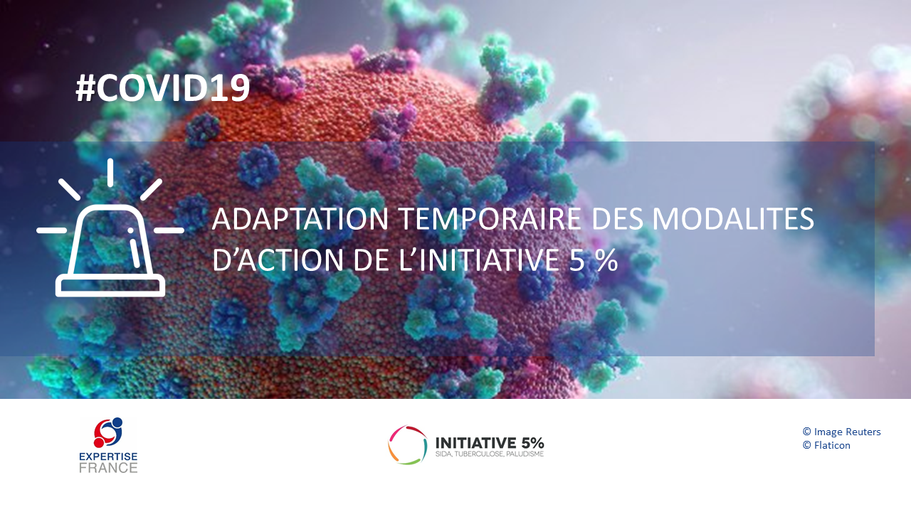 COVID-19 : Adaptation temporaire de L'Initiative
